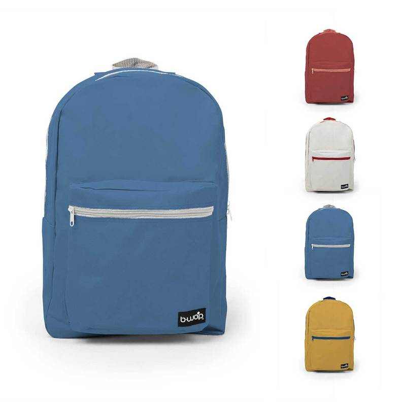 """18"""" Standard Backpack - (6 count, assorted colors)"""