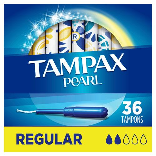 Regular Pearl Tampons - 12 Boxes of 36