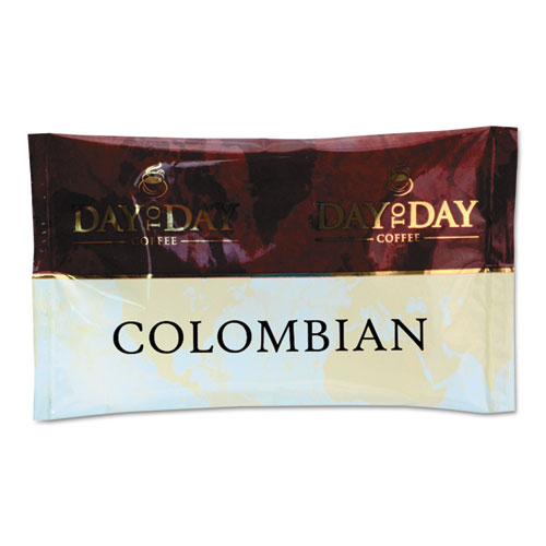 100% Pure Coffee, Colombian Blend, 1.5 Oz Pack, 42 Packs/carton