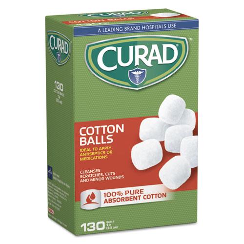"""Sterile Cotton Balls, 1"""", 130/box"""