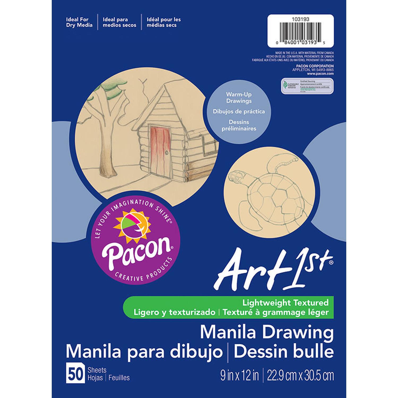 Cream Manila Drawing Paper 9 X 12 50shts