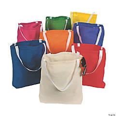 Medium Canvas Tote Bag 50 CT Assortment