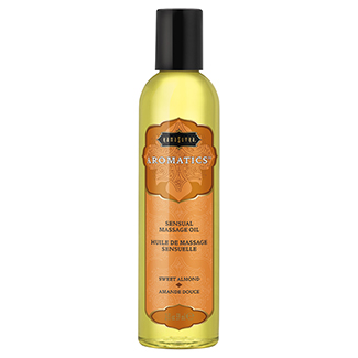 Kama Sutra Aromatic Massage Oil-Sweet Almond 2oz-img-0