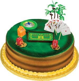 Casino (Gambling) Toppers Cake Kit