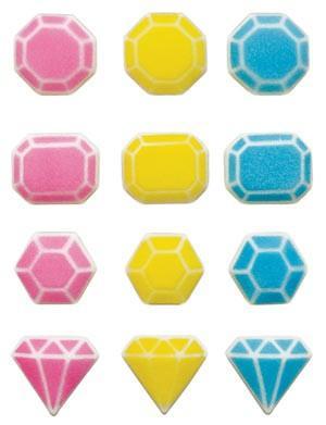 Fabulous Gems Assortment Sugars - 96 Pack