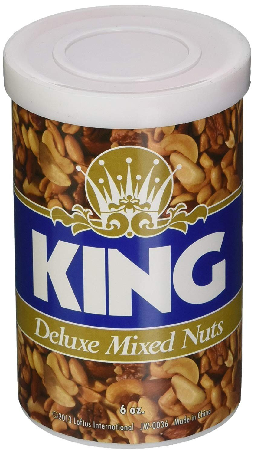 """KING"" Snakes-in-a-can Deluxe Mixed Nuts Prank"