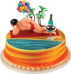 Macho Man Toppers Cake Kit