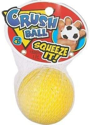 """Squeeze it"" Crush Ball, - 1 Pack"